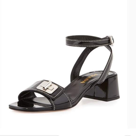 Prada patent turnlock sandals. M 5bdc8454a31c334ae345647c. Other Shoes ...
